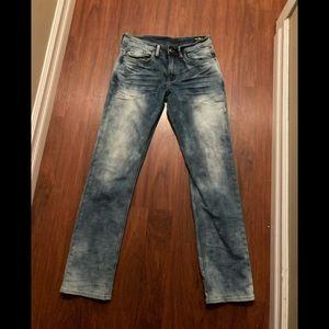 Buffalo six-x slim straight stretch jeans 32 x 30